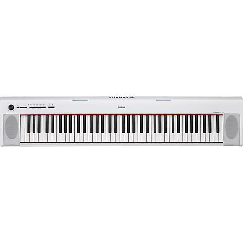 Yamaha NP-32 76-Key Piaggero Portable Keyboard White