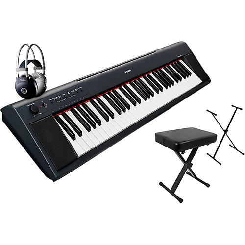 Yamaha NP11AD Stand, Bench, Headphone Package
