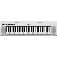 NP12 61-Key Entry-Level Piaggero Ultra-Portable Digital Piano White
