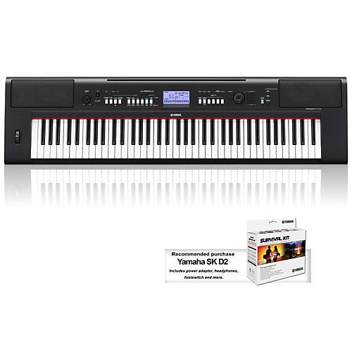 NPV60 76-Key Mid-Level Piaggero Ultra-Portable Digital Piano