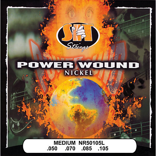 SIT Strings NR50105L Medium Power Wound Nickel Bass Strings