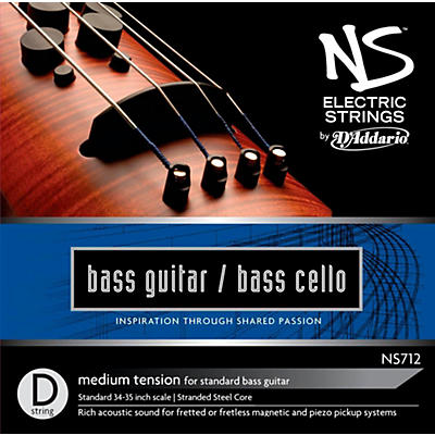 D'Addario NS Electric Bass Cello / Electric Bass D String