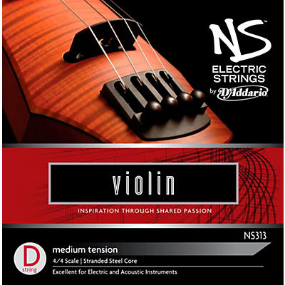 D'Addario NS Electric Violin D String