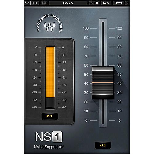 Waves NS1 Noise Suppressor Native/SG Software Download