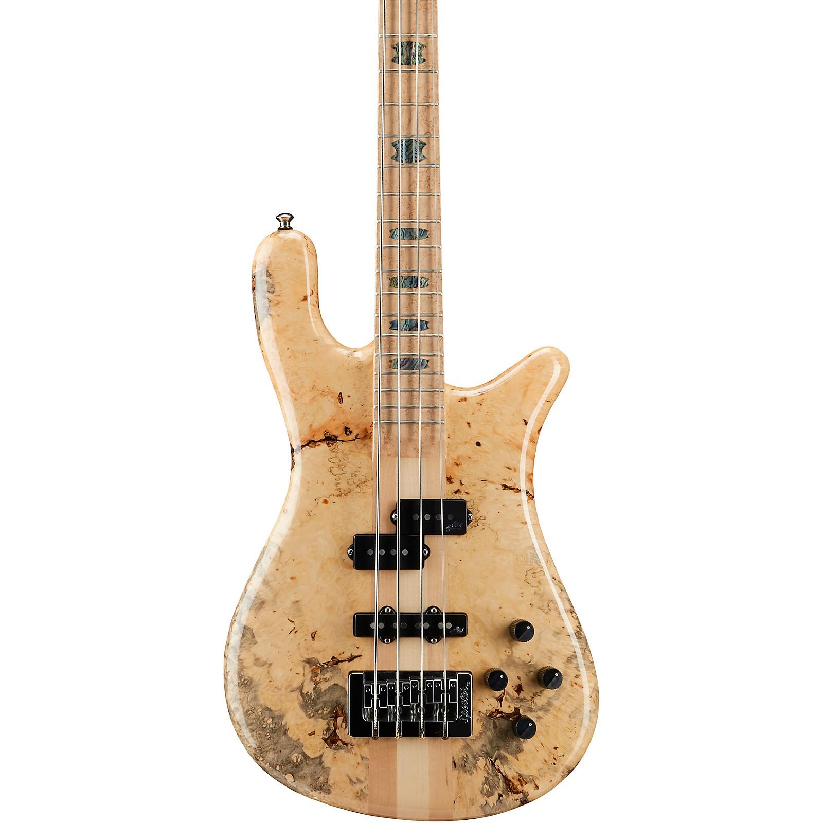 Spector NS2 Box Elder Maple Top Electric Bass
