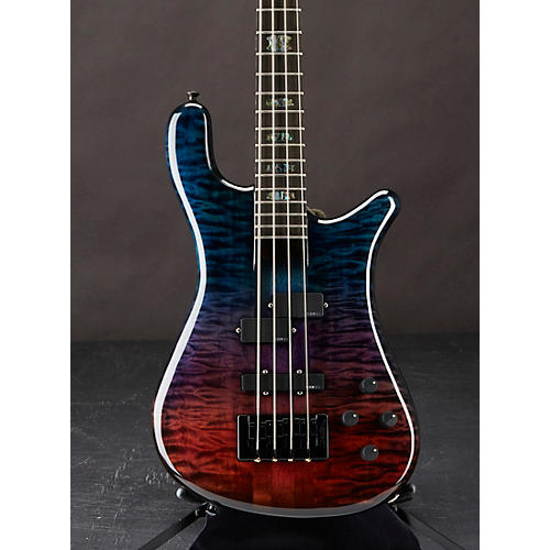 Spector NS2 Quilted Maple Top Electric Bass Gloss Natural