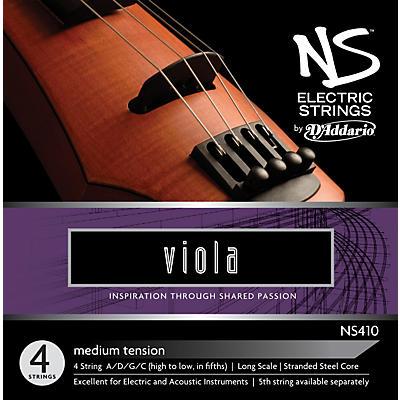 D'Addario NS410 NS Electric Viola Strings