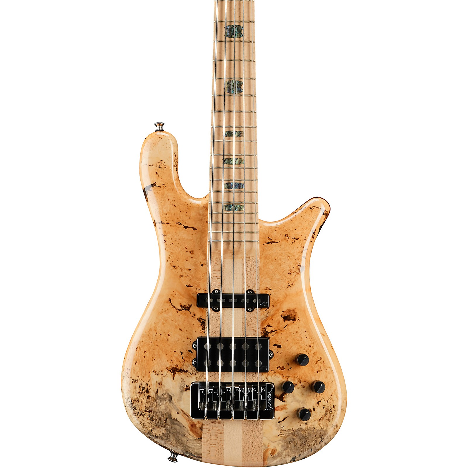 Spector NS5 Box Elder Maple Top 5-String Electric Bass