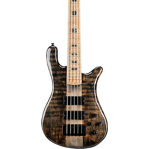 Spector NS5XL Spalted Maple Top 5-String Electric Bass Gloss Natural