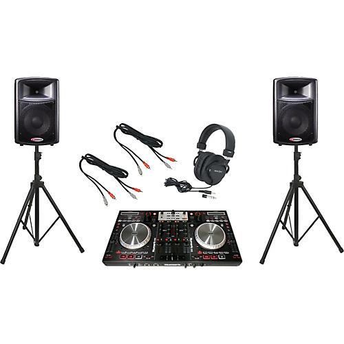Numark NS6 / Harbinger APS12 DJ Package