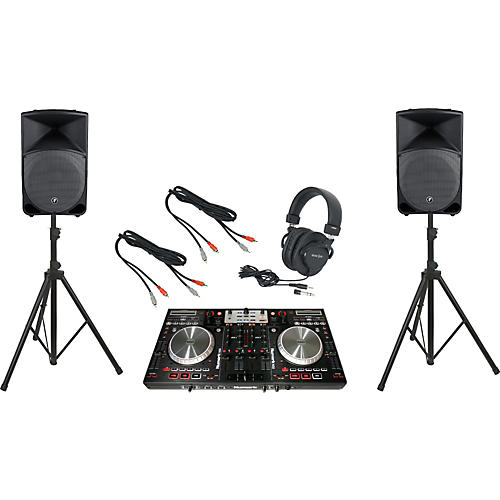 Numark NS6 / Mackie TH-15A DJ Package