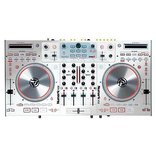 Numark NS6 Digital DJ Controller (White)