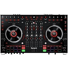 Open Box Numark NS6II Premium 4-Channel Serato DJ Controller with Dual USB and HD Color Displays