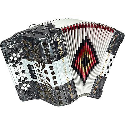 SofiaMari NSM-3412 34-Button 12 Bass Accordion FBE