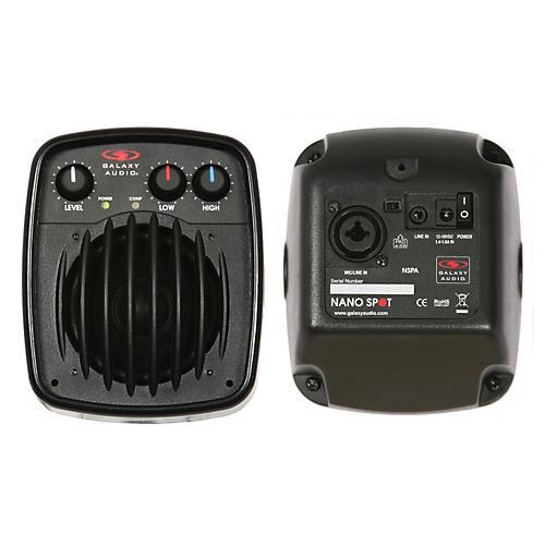 Galaxy Audio NSPA 25W Powered Nano Spot Compact Personal Hot Spot Stage Monitor