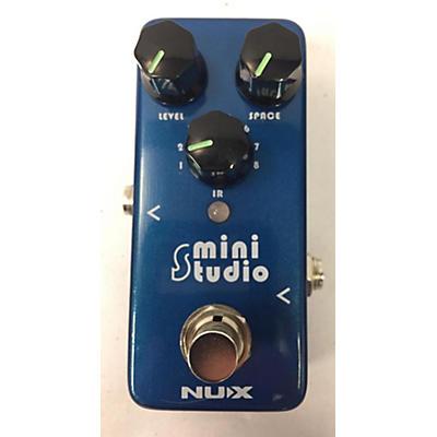 NUX NSS-3 Mini Studio IR Loader Speaker Cabinet Simulator Pedal