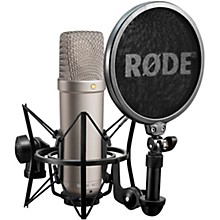 Open Box Rode NT1-A Cardioid Condenser Microphone Bundle