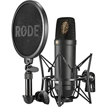 Open Box Rode NT1 Condenser Microphone Package