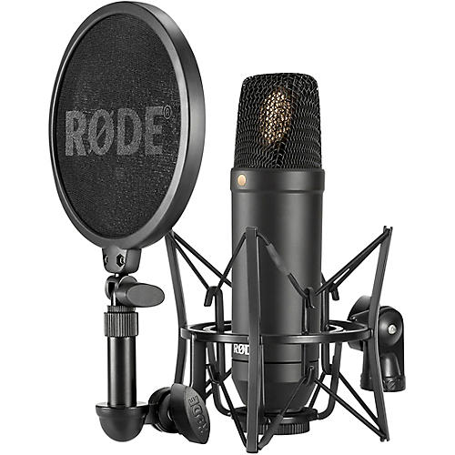 Rode NT1 Kit Condenser Microphone With SM6 Shockmount and Pop Filter