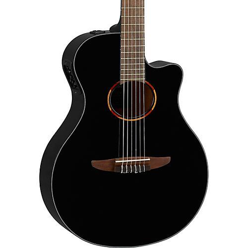 Yamaha NTX1 Acoustic-Electric Classical Guitar Black