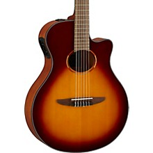 NTX1 Acoustic-Electric Classical Guitar Brown Sunburst