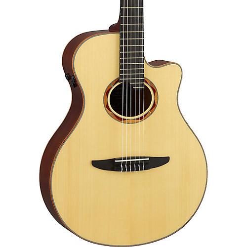 Yamaha NTX5 Acoustic-Electric Classical Guitar Natural