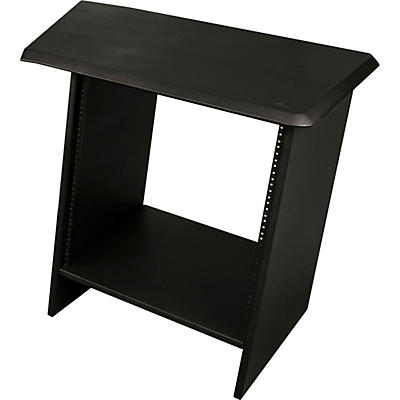 """Ultimate Support NUC-R12R Nucleus Series - Studio Desk Table Top - Single 24"""" extension with 12 space rack (Right)"""
