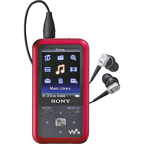 Sony NWZ-S716FRNC 4GB Walkman Video MP3 player with Noise-Canceling Headphones