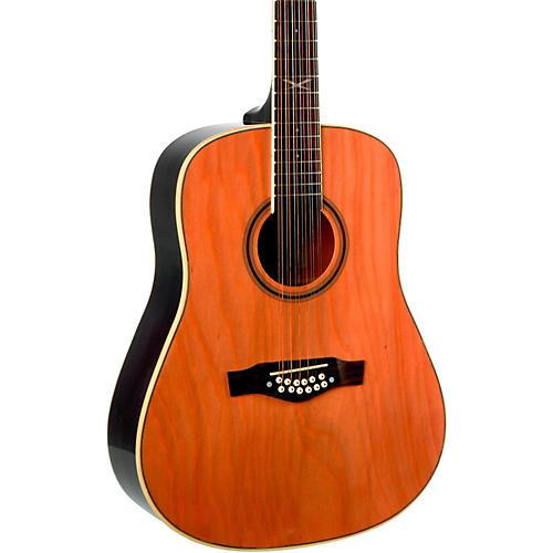 EKO NXT Series 12-String Dreadnought Acoustic Guitar Natural