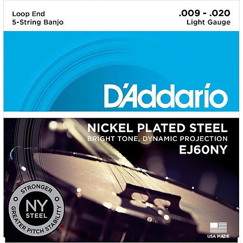 D'Addario NYXL Light Banjo Strings (9-20)