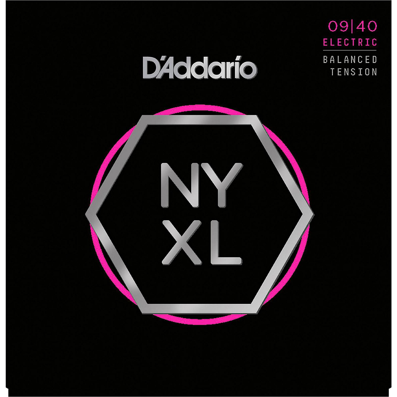 D'Addario NYXL0940BT Super Light Balanced Tension Electric Guitar Strings