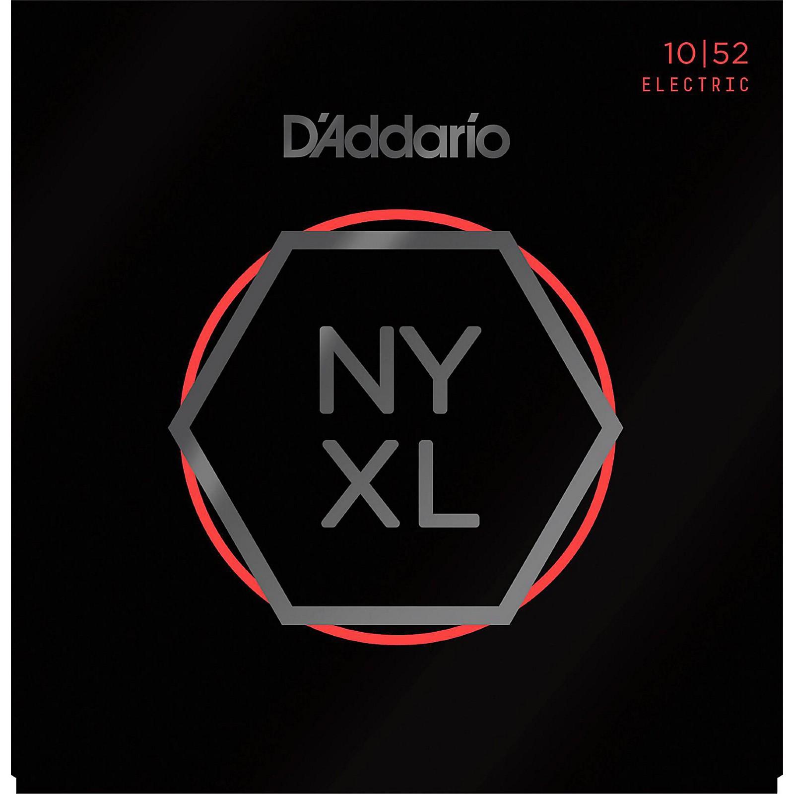 D'Addario NYXL1052 Light Top/Heavy Bottom Electric Guitar Strings