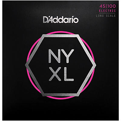 D'Addario NYXL45100 Gauge NPS Long-Scale Bass Strings