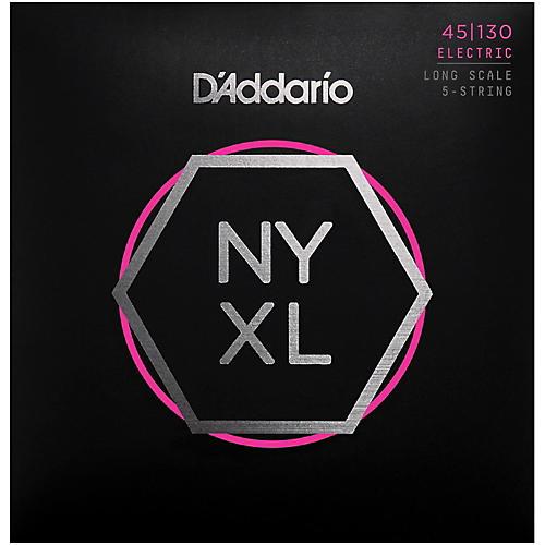 D'Addario NYXL45130 Gauge NPS Long-Scale Bass Strings