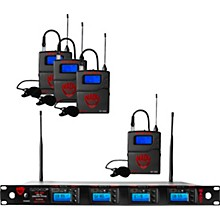 Nady Nady 4W-1KU-LT, 1000-channel Professional Lavaliere/Lapel Wireless System