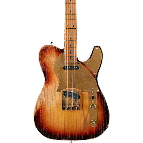 Paoletti Guitars Nancy Loft SS Electric Guitar 3-Tone Sunburst
