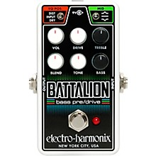 Electro-Harmonix Nano Battalion Bass Preamp & Overdrive Effects Pedal