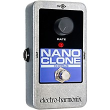 Open Box Electro-Harmonix Nano Clone Chorus Guitar Effects Pedal