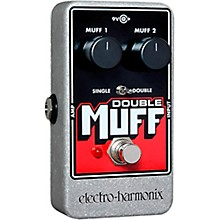 Open Box Electro-Harmonix Nano Double Muff Distortion Guitar Effects Pedal