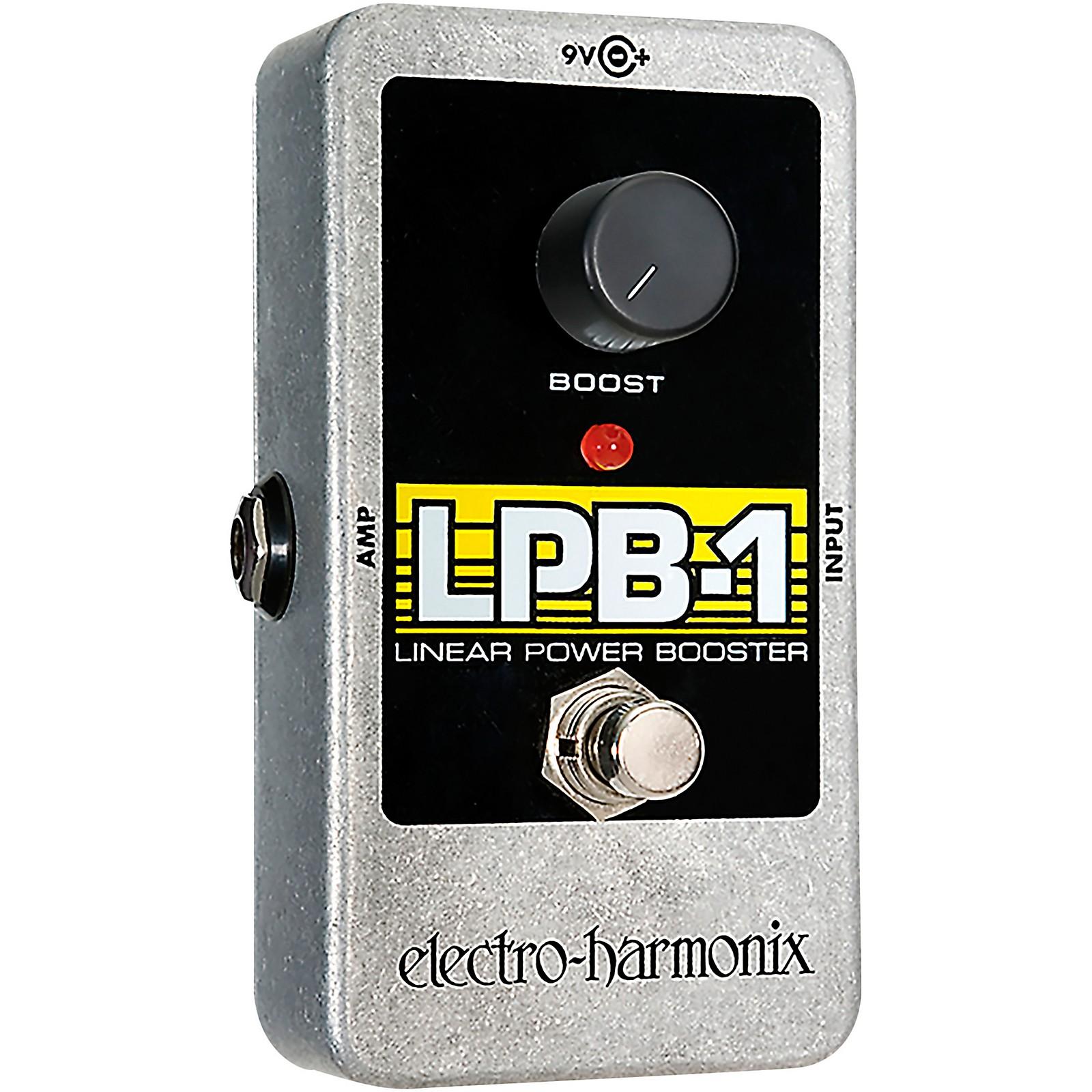 Electro-Harmonix Nano LPB-1 Linear Power Booster Guitar Effects Pedal