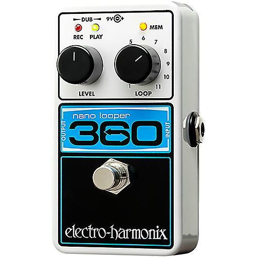 electro harmonix nano looper 360 guitar effects pedal musician 39 s friend. Black Bedroom Furniture Sets. Home Design Ideas