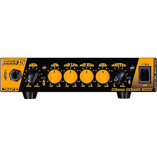 Markbass Nano Mark 300 Anniversary 15 300W Bass Amp Head