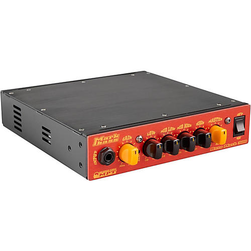 Markbass Nano Mark 300 Compact 300W Bass Amp Head Red