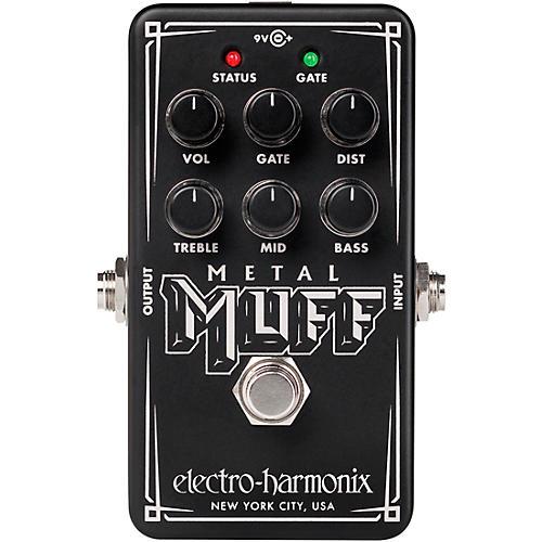 Electro-Harmonix Nano Metal Muff Distortion Effects Pedal Black