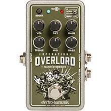 Open Box Electro-Harmonix Nano Operation Overlord Overdrive/Distortion Pedal