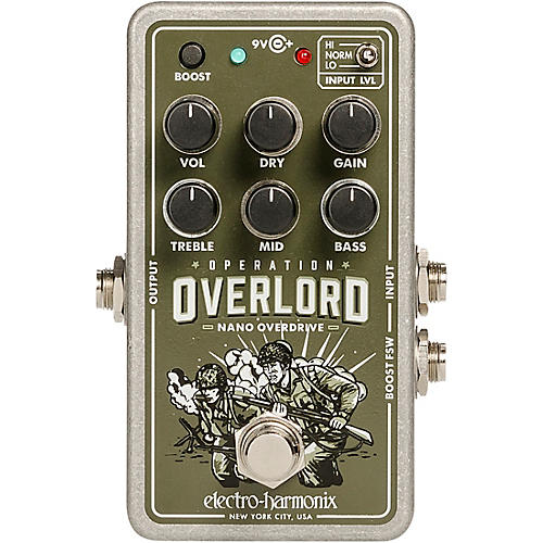 Electro-Harmonix Nano Operation Overlord Overdrive/Distortion Pedal