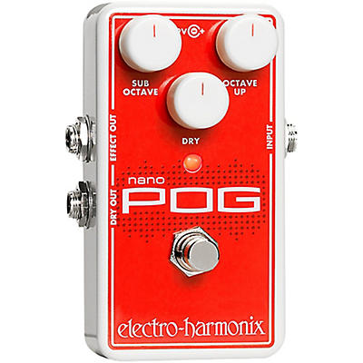 Electro-Harmonix Nano POG Polyphonic Octave Generator Guitar Effects Pedal