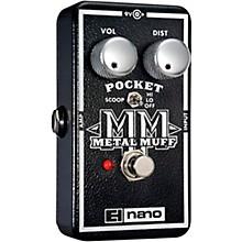 Open BoxElectro-Harmonix Nano Pocket Metal Muff Distortion Guitar Effects Pedal