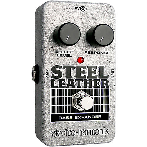 Electro-Harmonix Nano Steel Leather Bass Expander Effect Pedal