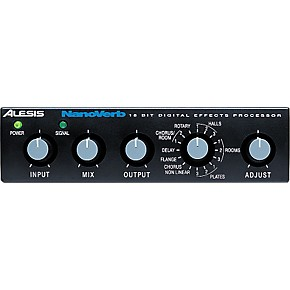 alesis nanoverb 18 bit digital effects processor musician 39 s friend. Black Bedroom Furniture Sets. Home Design Ideas